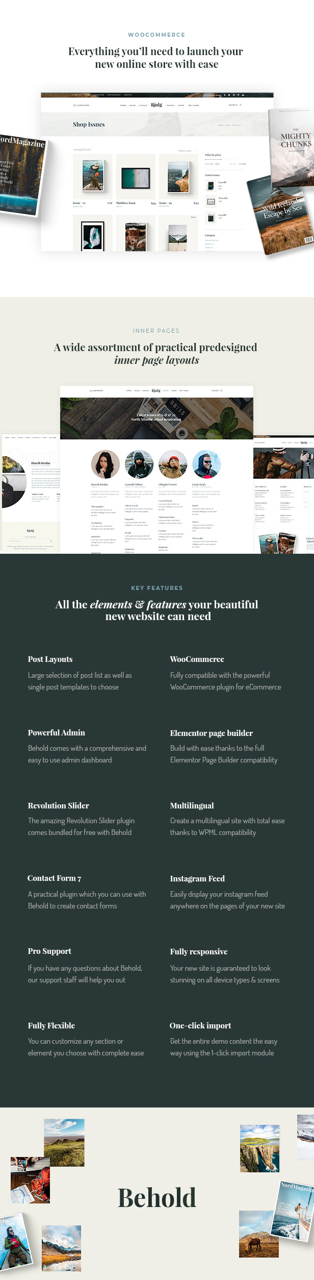Behold - Personal Blog WordPress Theme - 7